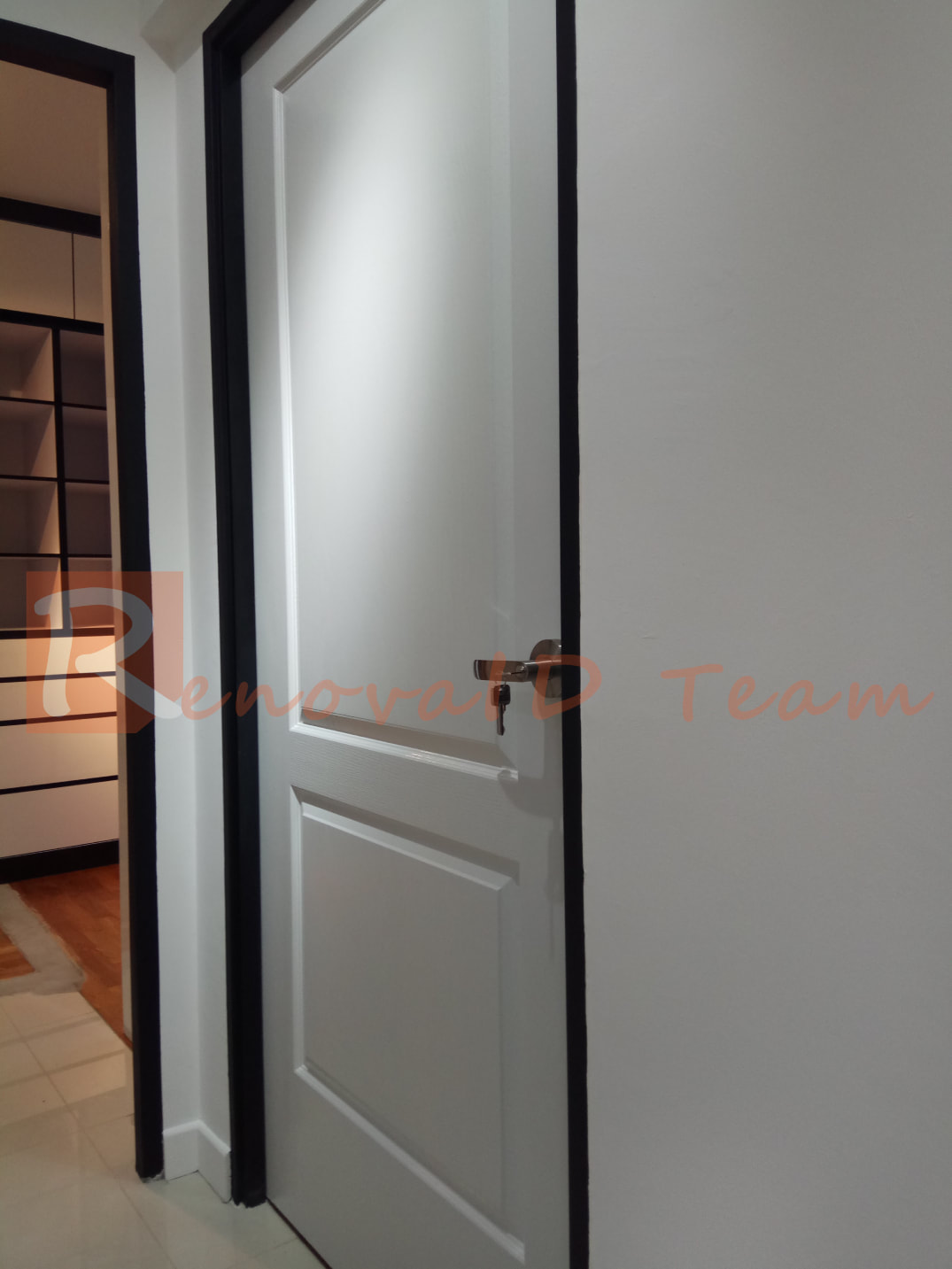 Classic Doors 2p Installed At Bto Flat In Punggol Doors
