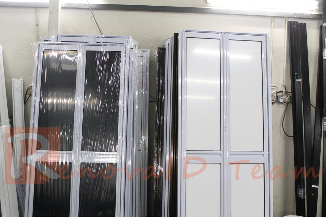 Aluminium Bi Fold Toilet Door Promotion For Hdb Flat