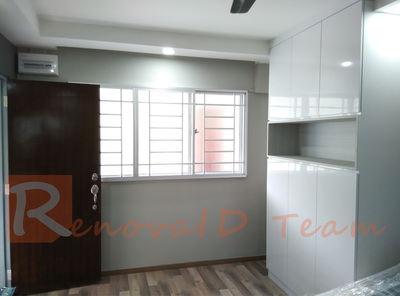 Professional Painting Package For 4 Room Hdb Re Sale Flat