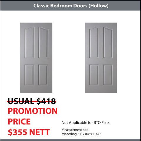 2 Classic Doors Package