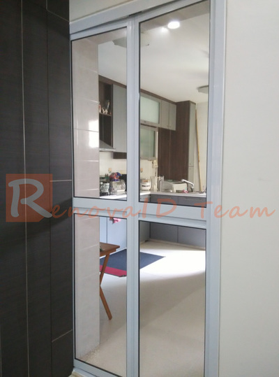 Aluminium Bi Fold Toilet Door Promotion For Hdb Bto And Re