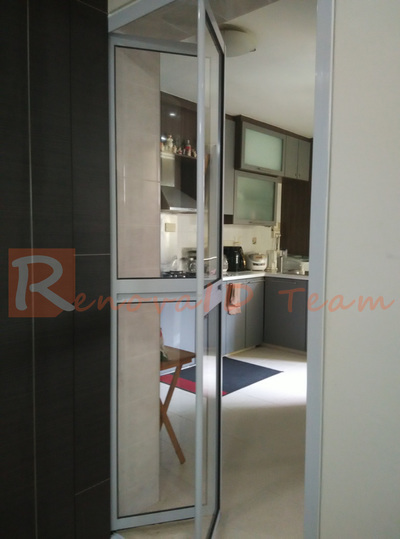 Order Aluminium Bifold Door For Kitchen Entrance With Us Online From S$249