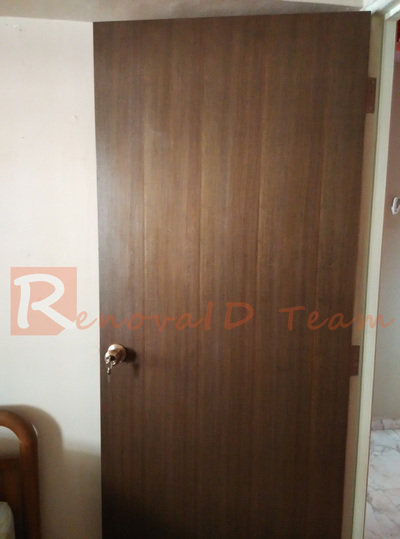 Nyatoh Plywood Door For Bedroom Renovaid Team
