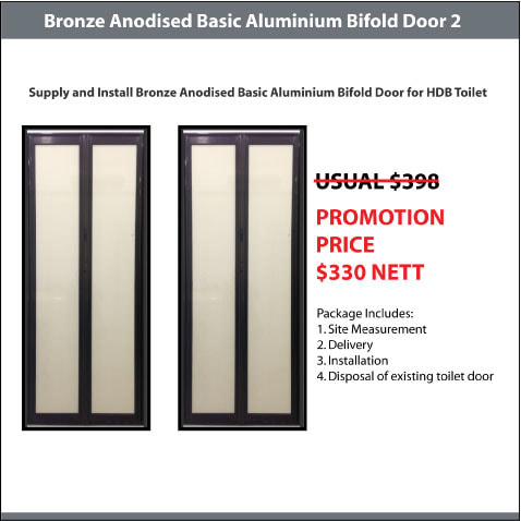 BA Basic Bifold Door