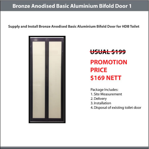 BA Basic Aluminium Bifold Door
