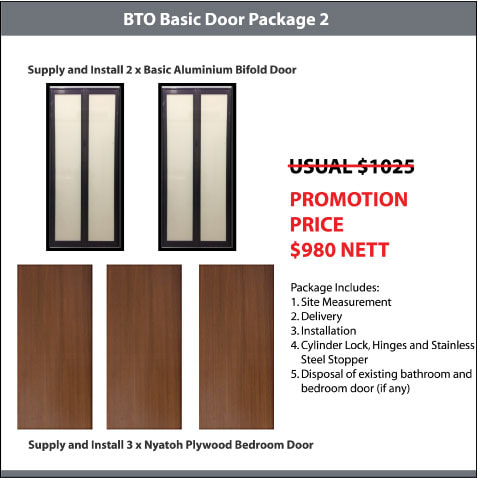 BTO Basic Door Package 2