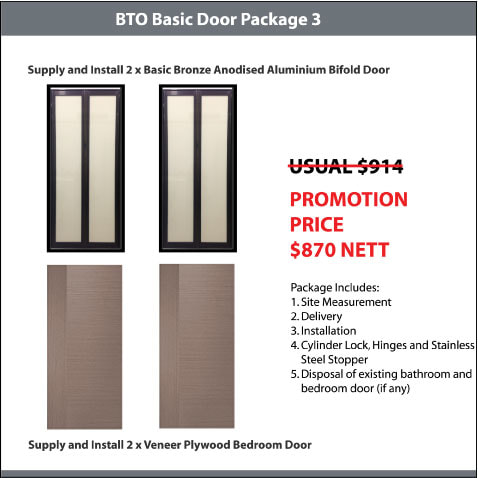 BTO Basic Door Package 3