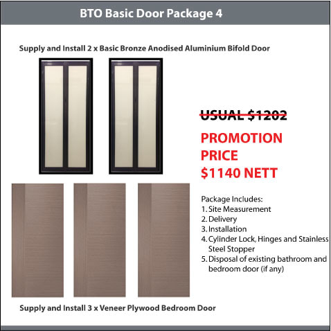 BTO Basic Door Package 4