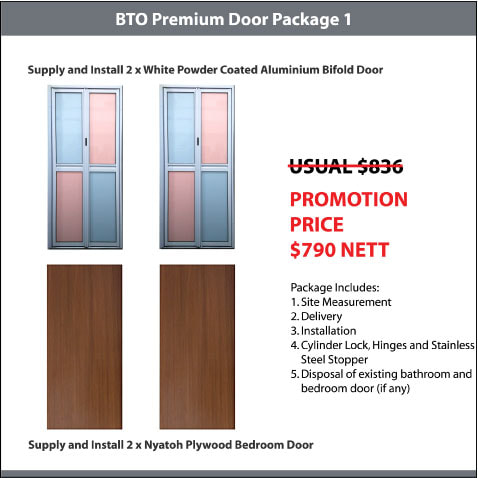 BTO Premium Door Package 1