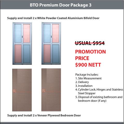 BTO Premium Door Package 3