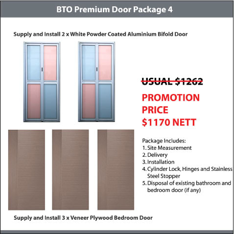 BTO Premium Door Package 4