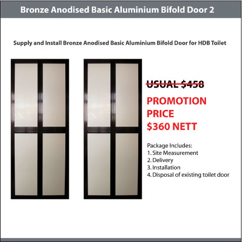 BA Bifold Door Promotion