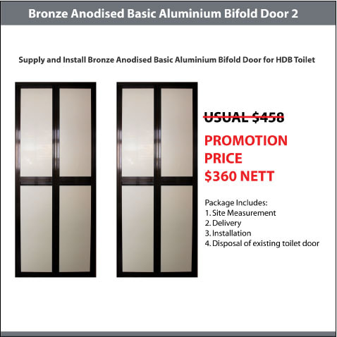 BA Premium Bifold Door Promotion