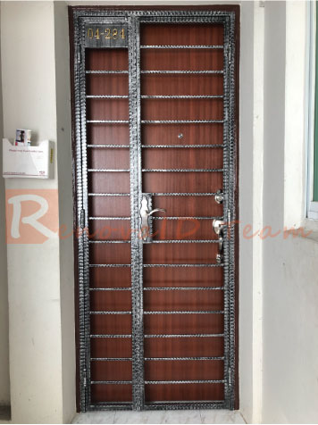 Wrought Iron Gate Promotion For Hdb Re Sale Flat