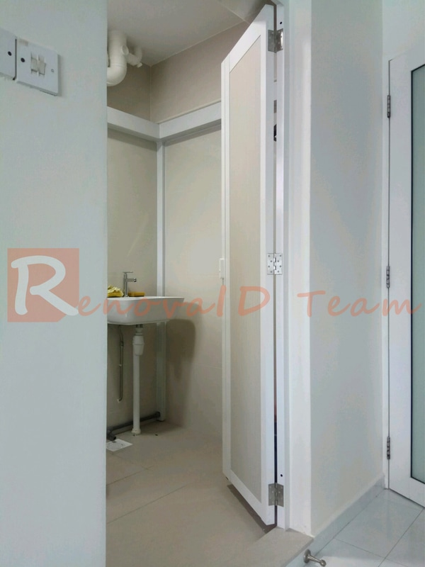 Slide and Swing Toilet Door Promotion for HDB BTO Flat at Factory Price - Renovaid & Slide and Swing Toilet Door Promotion for HDB BTO Flat at Factory ...