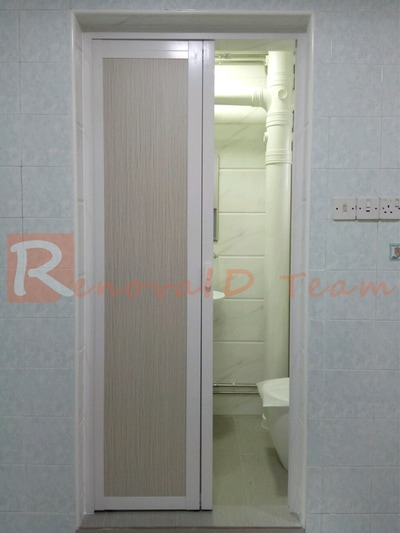 Slide And Swing Toilet Door Promotion For Hdb Bto Flat At