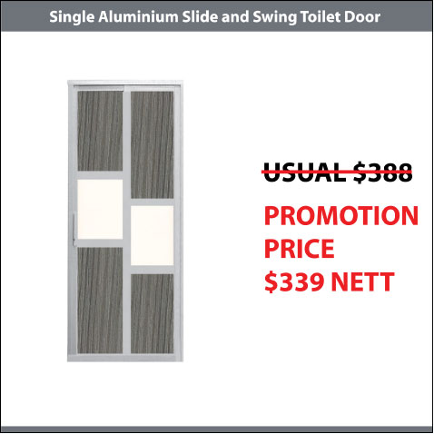 Aluminium Slide and Swing Promotion
