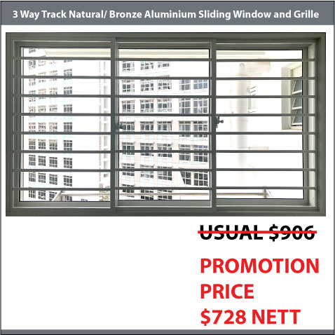 Service Yard Sliding Window
