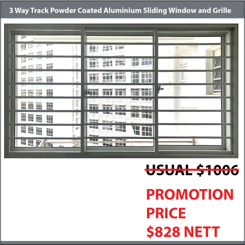 BTO Sliding Window and Grille