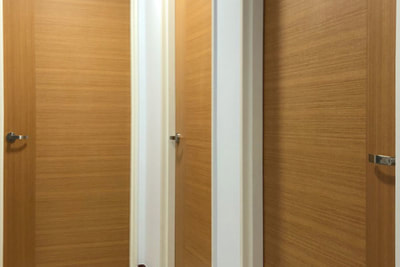 Veneer Plywood Bedroom Doors
